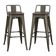 30 in bar stools. Dining Room: Spacious 30 Inches Distressed Metal Bar Stool With Wooden Seat Set Of Two In Stools R