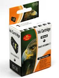 <b>Картридж</b> для HP 932 XL Черный <b>повышенной емкости</b> INKO ...