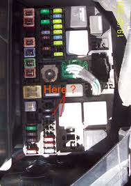 broken radiator fan alternative �1 fix air con heating (mk3 mondeo mk3 headlight fuse at Ford Mondeo Fuse Box