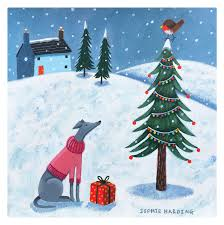 Christmas Cards Images 2018 Christmas Cards Just Whippets Rescue