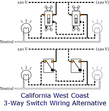 3 way switch california west coast wiring diagram