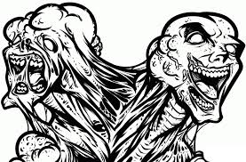 Small Picture Zombie Coloring Pages For Adults FITFRU Style Best Zombie