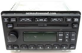 ford car radio stereo audio wiring diagram autoradio connector Ford Wiring Diagrams Stereo With Cd Changer ford factory radios replacement cd6 changer cd player repairs, wiring diagram Ford Wire Harness Color Code