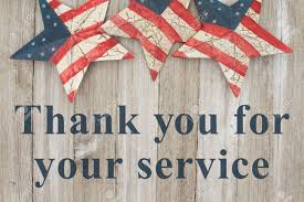 Image result for patriotic thank you