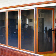 bi fold doors provide easy access to the outdoor deck opening up extra living
