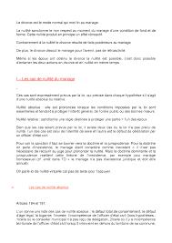 R Sum Sur La Formation Du Mariage 2 Partie Docsity