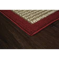 mainstays faux sisal 3 piece area rug set com