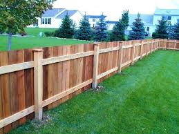 fence on uneven ground install building
