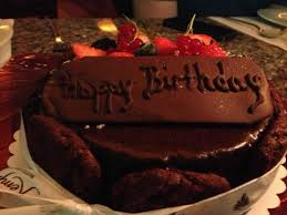 The Best Chocolate Birthday Cake Ever Picture Of Le Grill