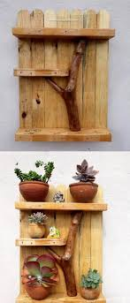 Inexpensive Wooden Pallets Shelve Projects Scrap Wood In