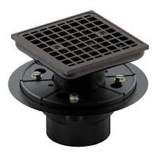 square design tile in shower drain