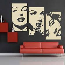 Small Picture Marilyn Negative Panel Wall Decal Art Design Trendy Wall Designs