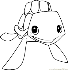 Small Picture sea turtle Animal Jam Coloring Page Free Animal Jam Coloring