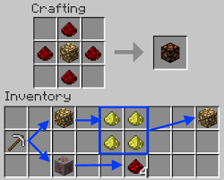 image titled make a redstone lamp in minecraft recipe png