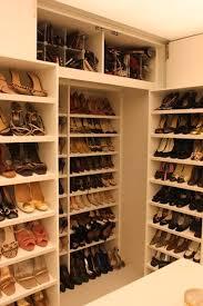 shoe storage walk in shoe closet