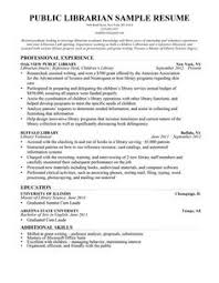 librarian resume sample writing guide librarian resume examples