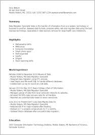 ... Data Migration Lead Resume With Data Migration Testing Resume And Sap  Data Migration Resume ...