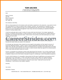 9 Sample Cover Letters Teachers Letmenatalya