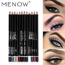 menow eye makeup set eyeliner pencil waterproof beauty eyes liner lip sticks cosmetics eyes maquiagem eyeshadow for brown eyes free makeup from