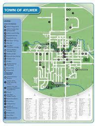 Old Brochures Maps Brochures Day Trips Town Of Aylmer Ontario