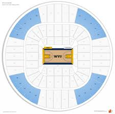 Wvu Stadium Seating Chart The Brilliant And Also Attractive Wvu Coliseum Seating Chart