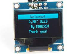 Amazon.com: KNACRO <b>4-pin</b> IIC <b>0.96 inch</b> Blue OLED Display ...