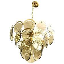 beveled glass chandelier panels beveled glass chandelier chandelier smoked beveled glass disk and brass chandelier 1