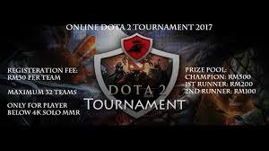 online dota 2 tournament 2017 by tofuboy