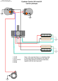 2 humbucker wiring diagram images wiring diagram carvin custom hh 01