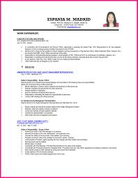 Sample Resume Fresh Graduate Accounting Student Beautiful Sample