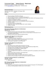 cv short new form
