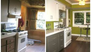 painted white cabinets before and after. enchanting painted kitchen cabinets before and after white e