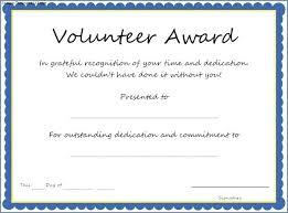 Volunteer Certificate Of Appreciation Templates Free Printable Volunteer Certificates Appreciation Certificate