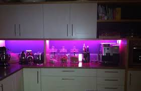 kitchen led lighting. Coloured Colourful Led Lighting Strips In Kitchen Lumi