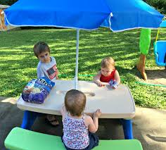 image of ideas little tikes picnic table