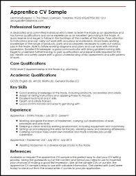 Resume Template Tradesman Artegami