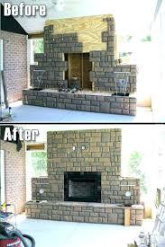 faux stone fireplace panels fireplace fake stone removing fake stone fireplace the best panels ideas on