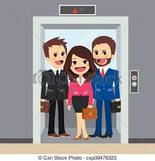 people in elevator clipart. elevator business people - csp39476323 in clipart a