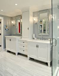 traditional white bathroom ideas. Example Of A Mid-sized Classic Master Mosaic Tile And White Marble  Floor Freestanding Traditional Bathroom Ideas M
