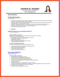 Sample Objectives In Resume For Ojt Business Administration Student Sample Resume Objective For Ojt Tourism Students Format Engineering 12