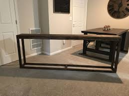narrow sofa table. Ashley Furniture Wood Console Table Narrow Sofa Behind Couch Long With Storage Extra S