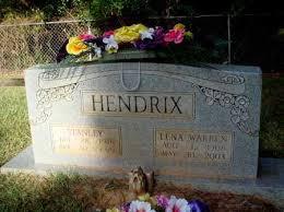 HENDRIX, LENA - Little River County, Arkansas   LENA HENDRIX ...