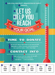 fundraiser flyer templates teamtractemplate s fundraising thermometer logo flyer ticketprintingcom b2vozvhl