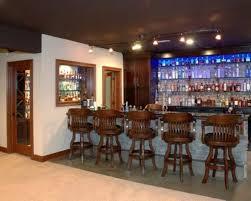 basement bar stone. Bars For Basements Plus Glass Wine Rack Shelves And Stone Bar Table Also Wooden Stools Design Ideas Basement