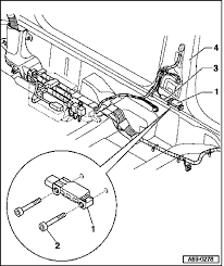 where are the airbag impact sensors on a 2004 audi a4 convertible crash sensor for front side airbag graphic