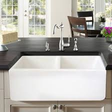 farmhouse kitchen sink double bowl farmhouse white fireclay kitchen sink 33 farmhouse goals farmhouse kitchen sink