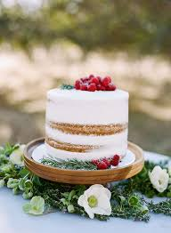 25 Stunning Single Tier Wedding Cakes Weddingsonline
