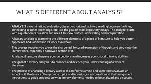tips for writing literary analysis plot summary vs plot what is different about analysis