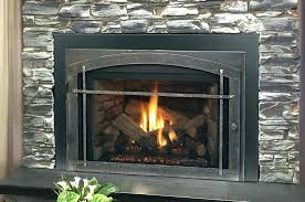 ventless fireplace insert gas log safety logs smell
