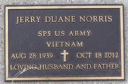 Jerry Duane Norris (1939-2012) - Find A Grave Memorial